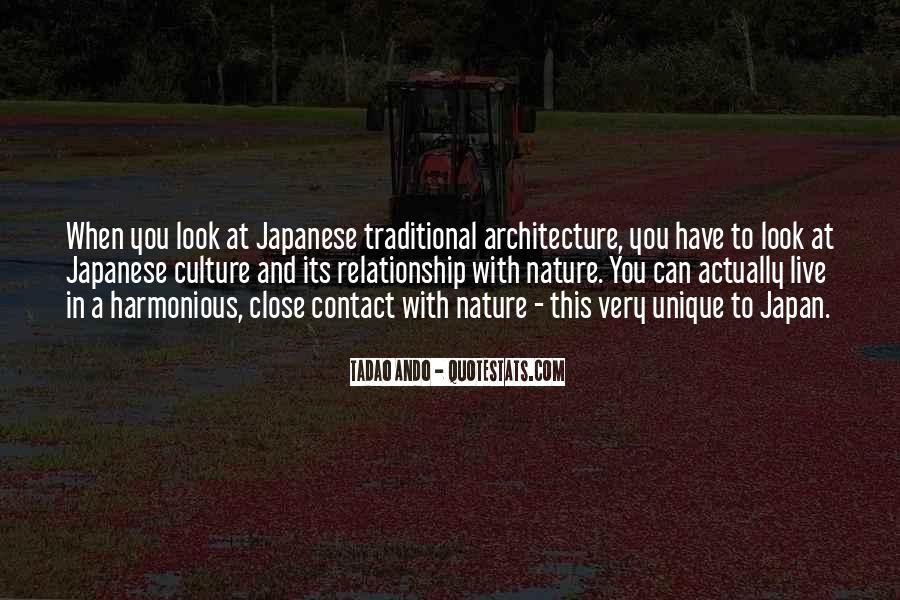 Nature And Architecture Quotes #160979