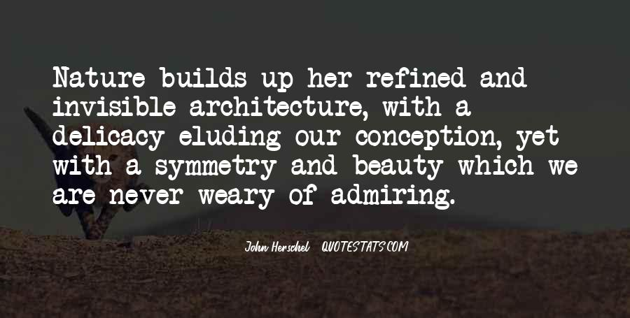 Nature And Architecture Quotes #27235