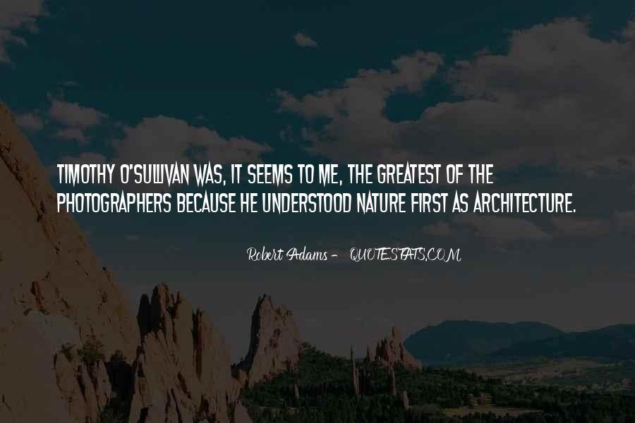 Nature And Architecture Quotes #286573