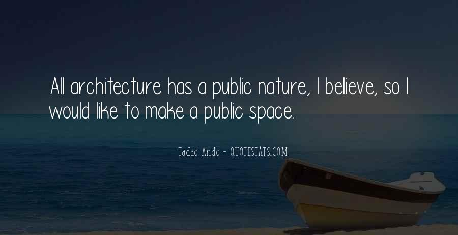 Nature And Architecture Quotes #581389