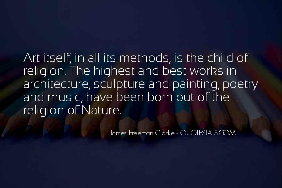 Nature And Architecture Quotes #6191
