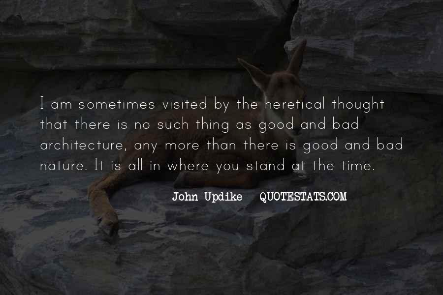 Nature And Architecture Quotes #869399