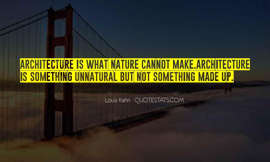 Nature And Architecture Quotes #948716