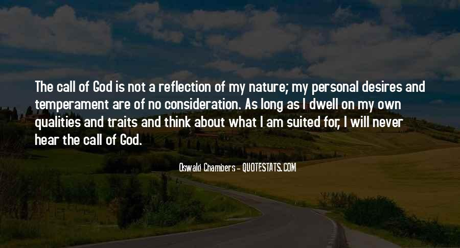 Nature Call Quotes #289398