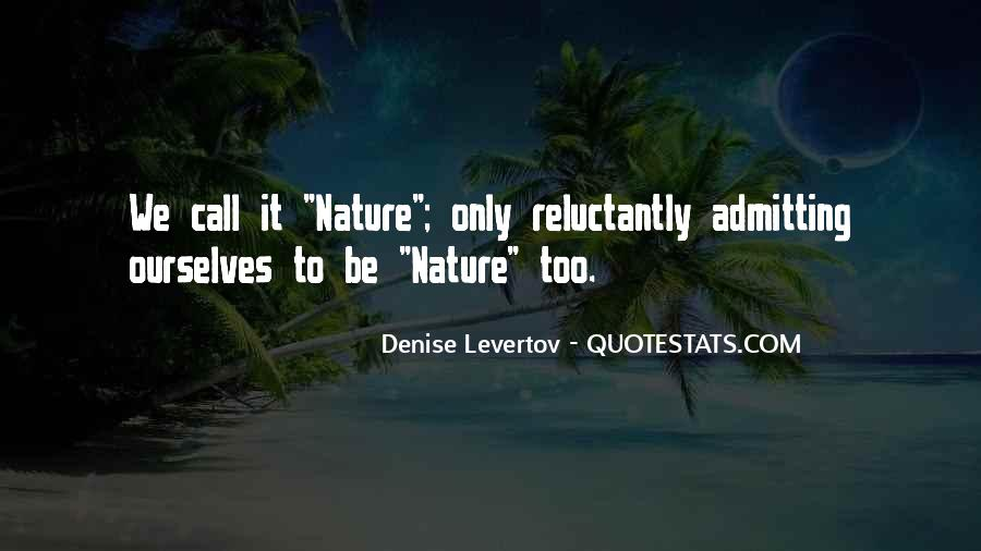 Nature Call Quotes #884398