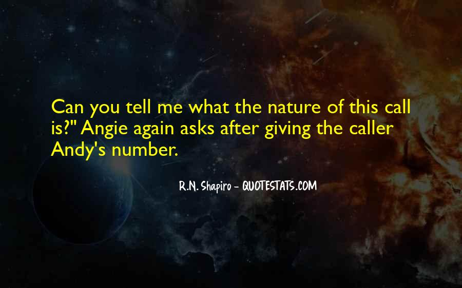 Nature Call Quotes #95419