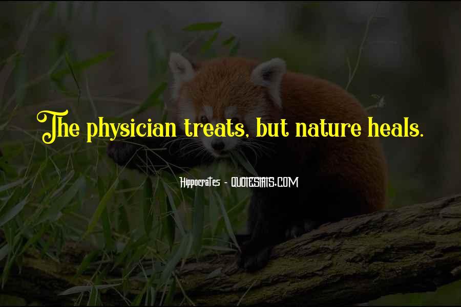 Nature Heals Quotes #136716
