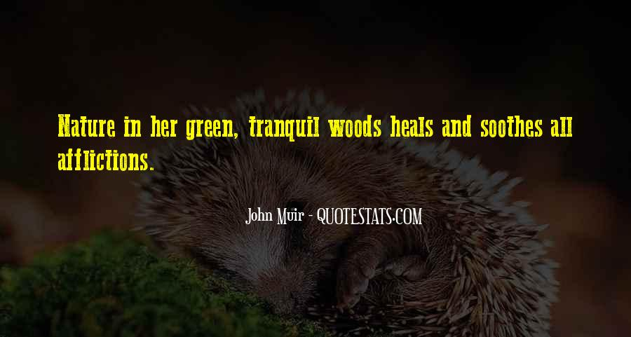 Nature Heals Quotes #1676734