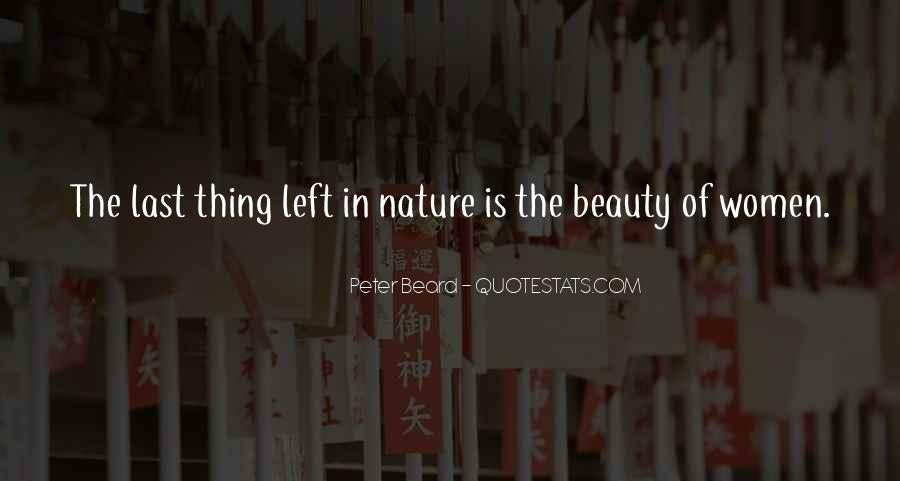 Nature Of Beauty Quotes #276840
