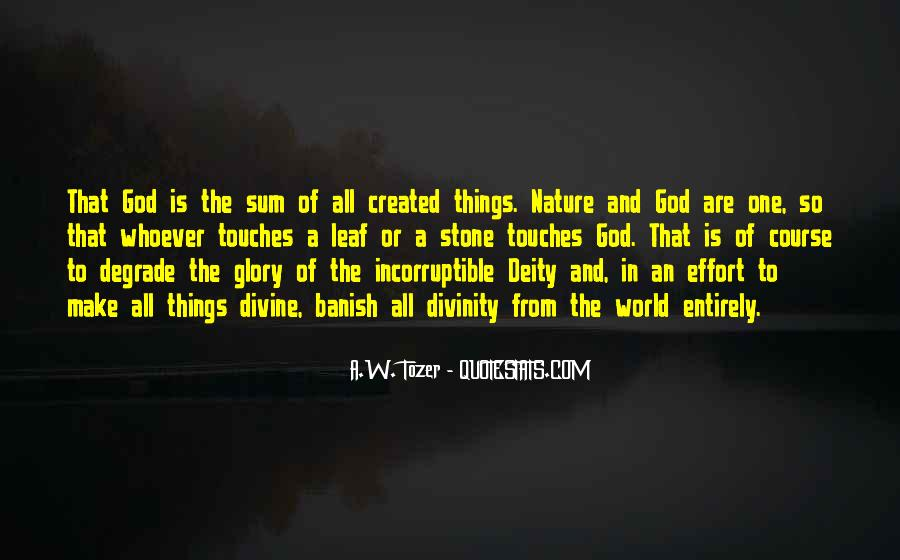 Nature Of Deity Quotes #1173884