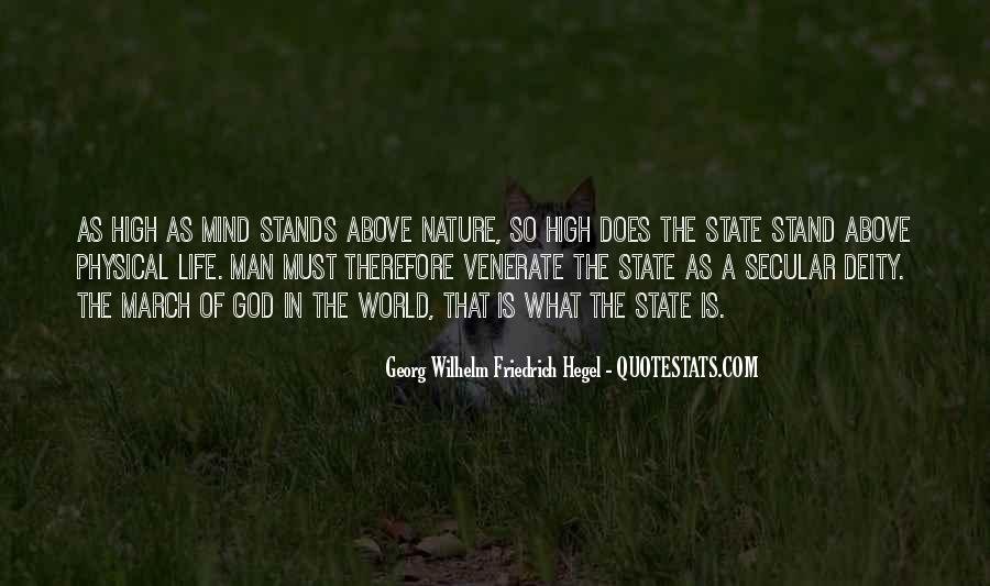 Nature Of Deity Quotes #1283429