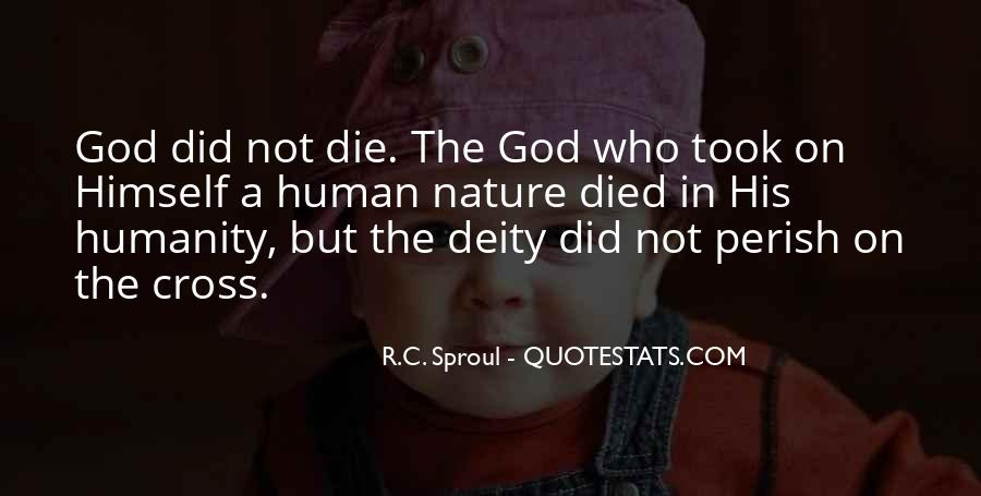Nature Of Deity Quotes #1374861