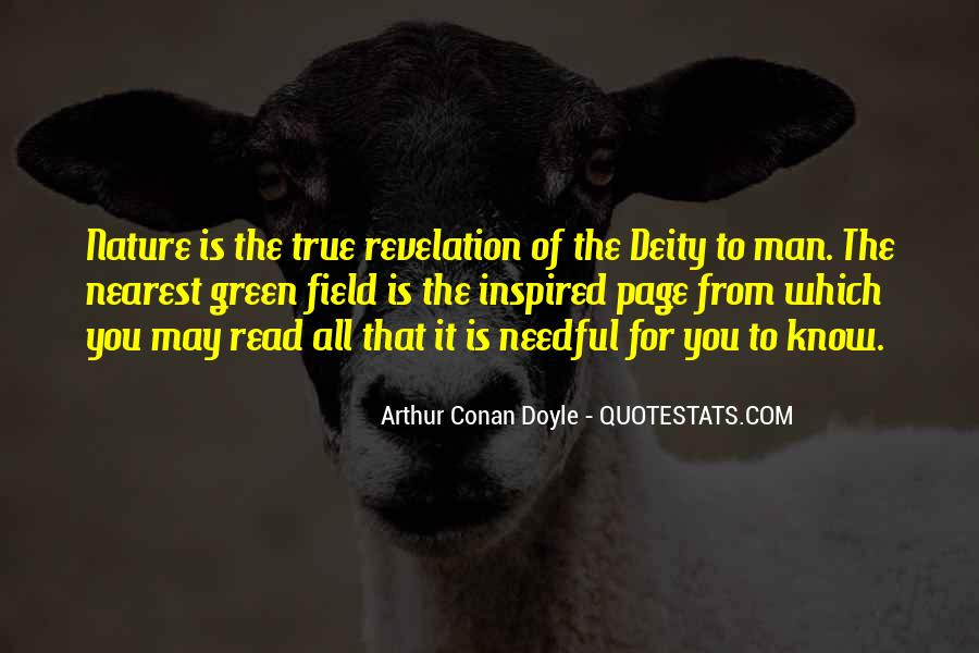 Nature Of Deity Quotes #1877254