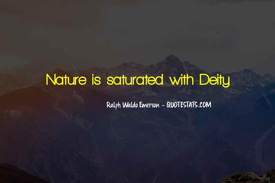 Nature Of Deity Quotes #193902