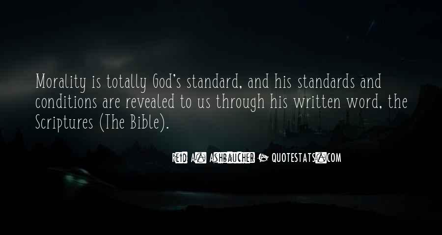 Nature Of God Bible Quotes #1090443