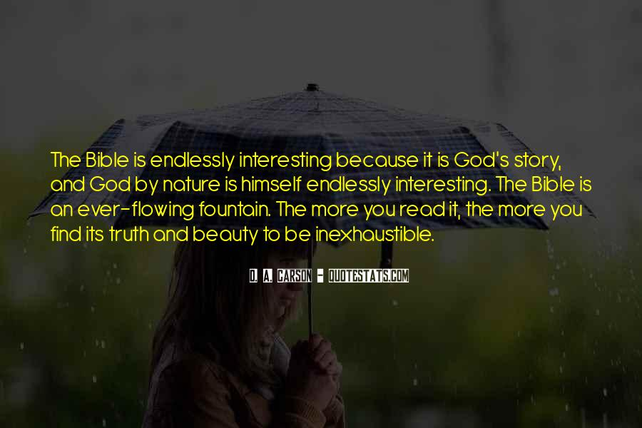 Nature Of God Bible Quotes #111378