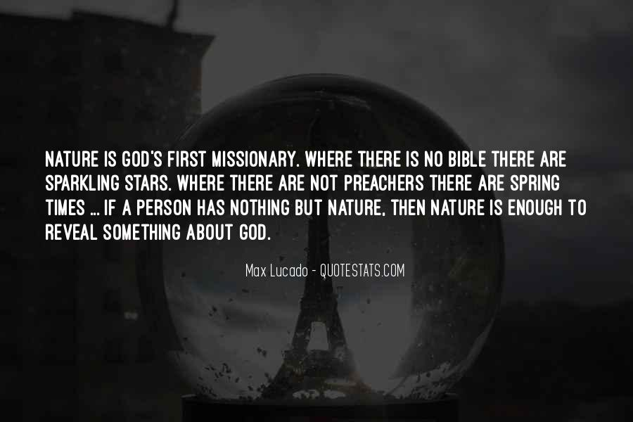 Nature Of God Bible Quotes #1437735