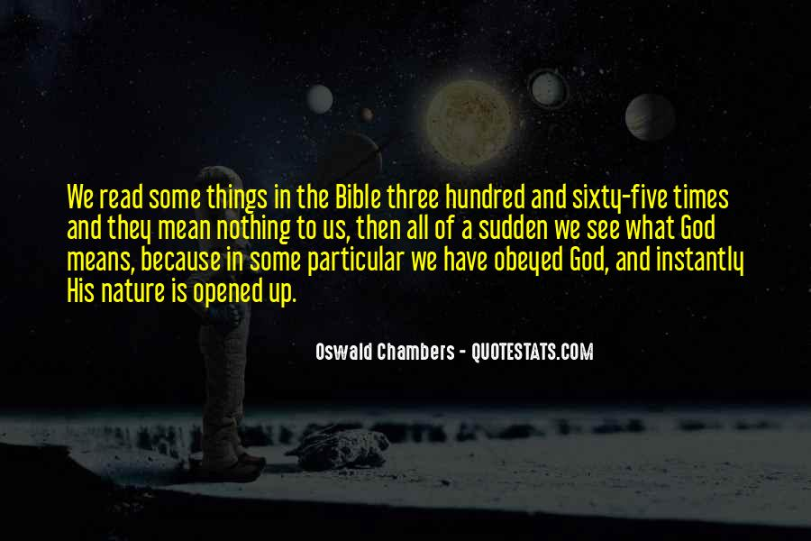 Nature Of God Bible Quotes #360024