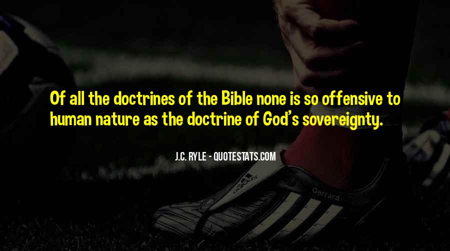Nature Of God Bible Quotes #633096