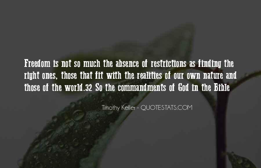 Nature Of God Bible Quotes #977039