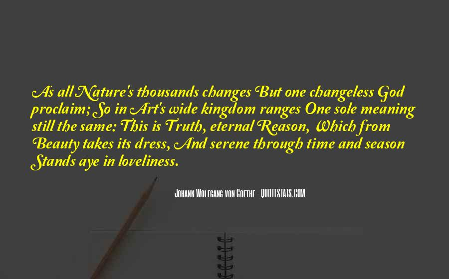 Nature Of Time Quotes #112206