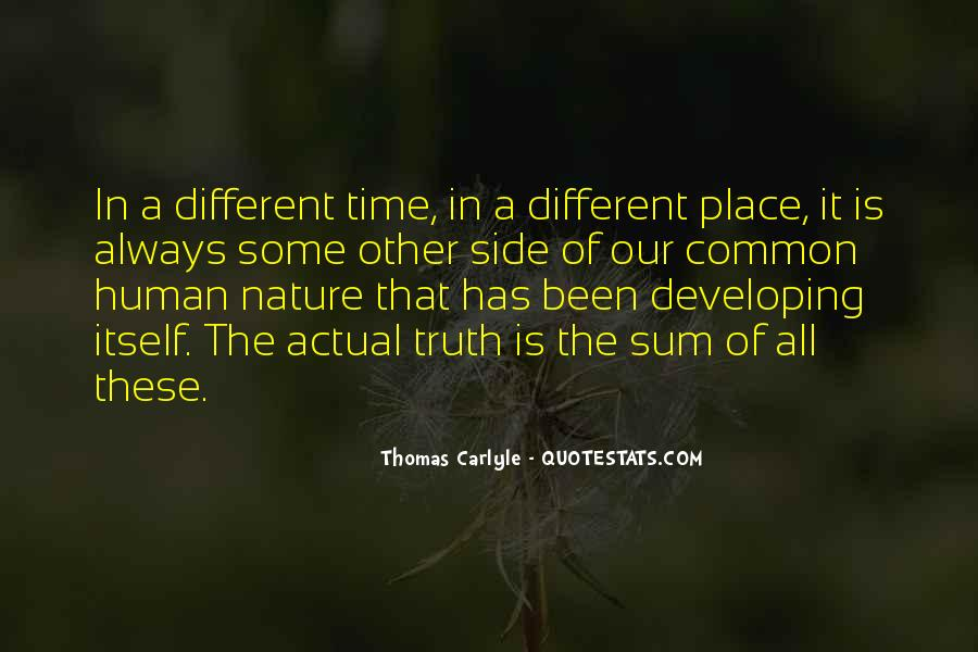 Nature Of Time Quotes #15698