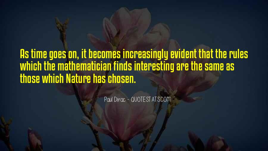 Nature Of Time Quotes #190034