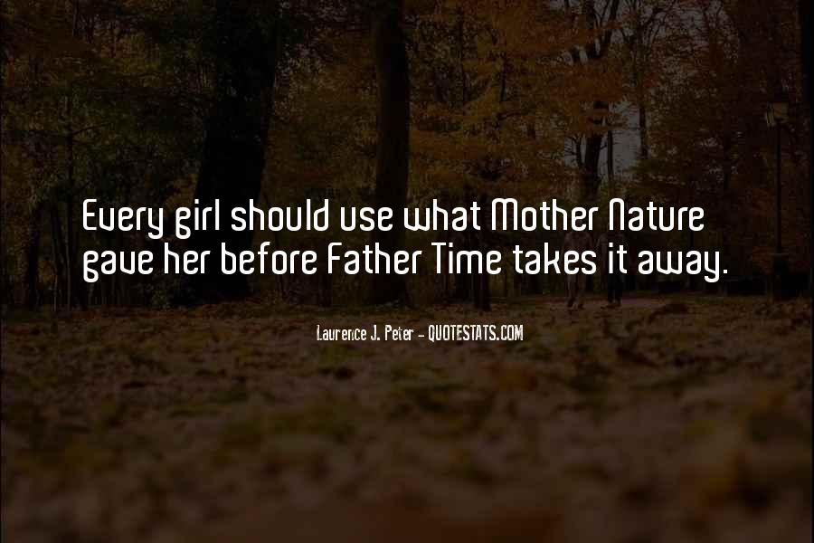 Nature Of Time Quotes #48267