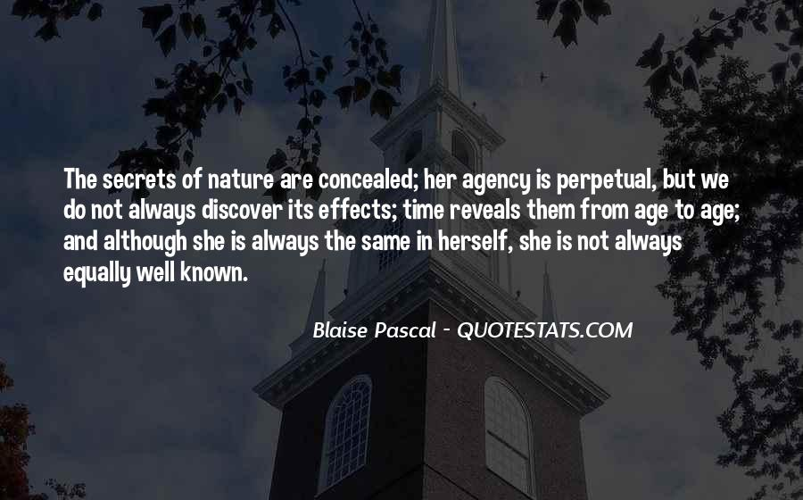 Nature Of Time Quotes #60307