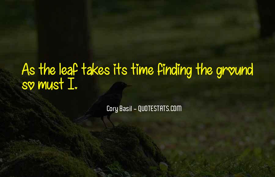 Nature Of Time Quotes #79568