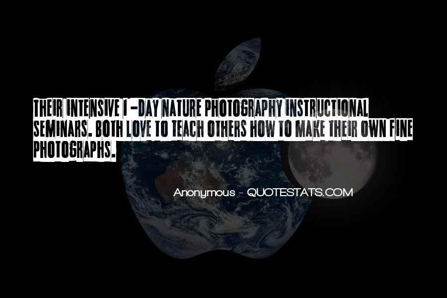 Nature Photography With Quotes #54267