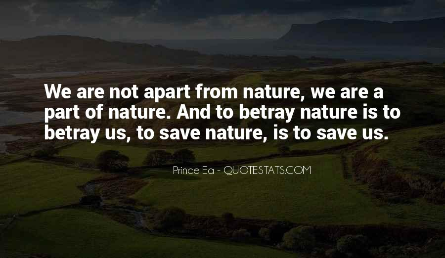 Nature Save Quotes #74365