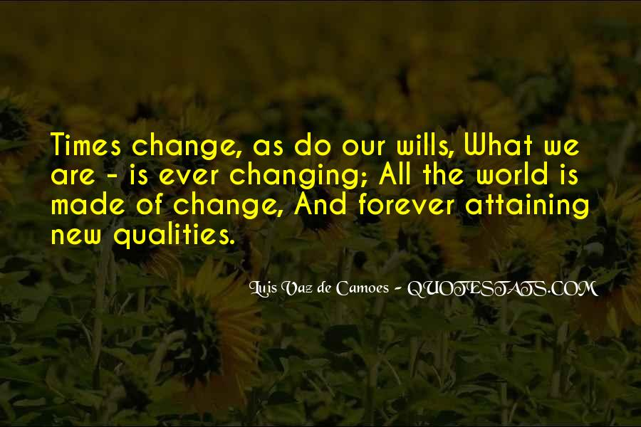 Quotes About Changing Times #1586740