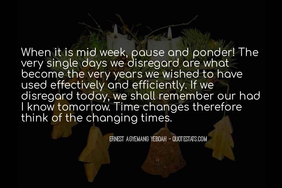 Quotes About Changing Times #25799
