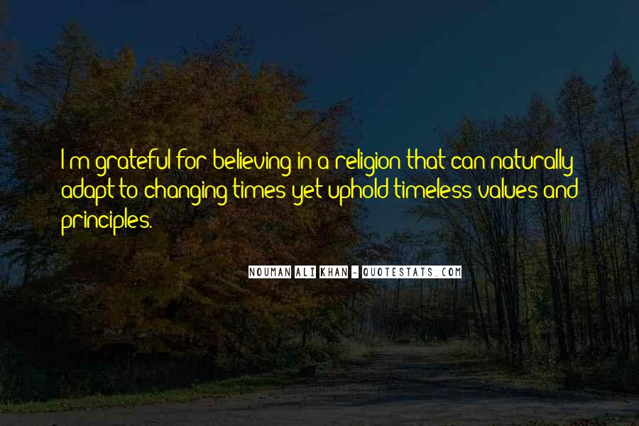 Quotes About Changing Times #768366