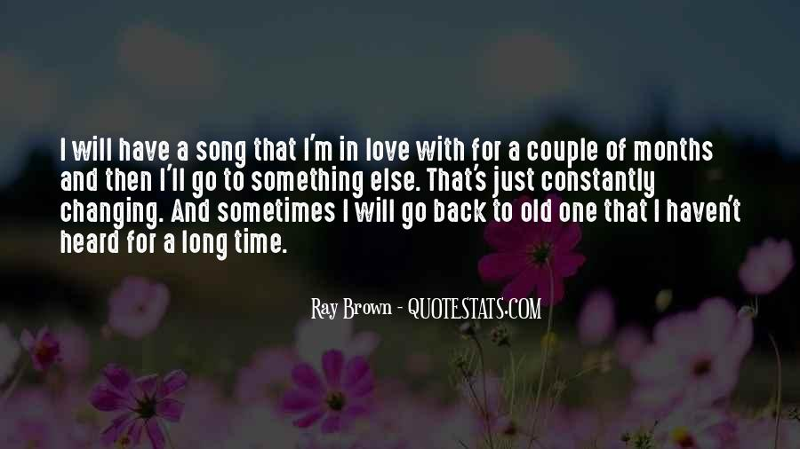 Quotes About Changing For Love #1111223