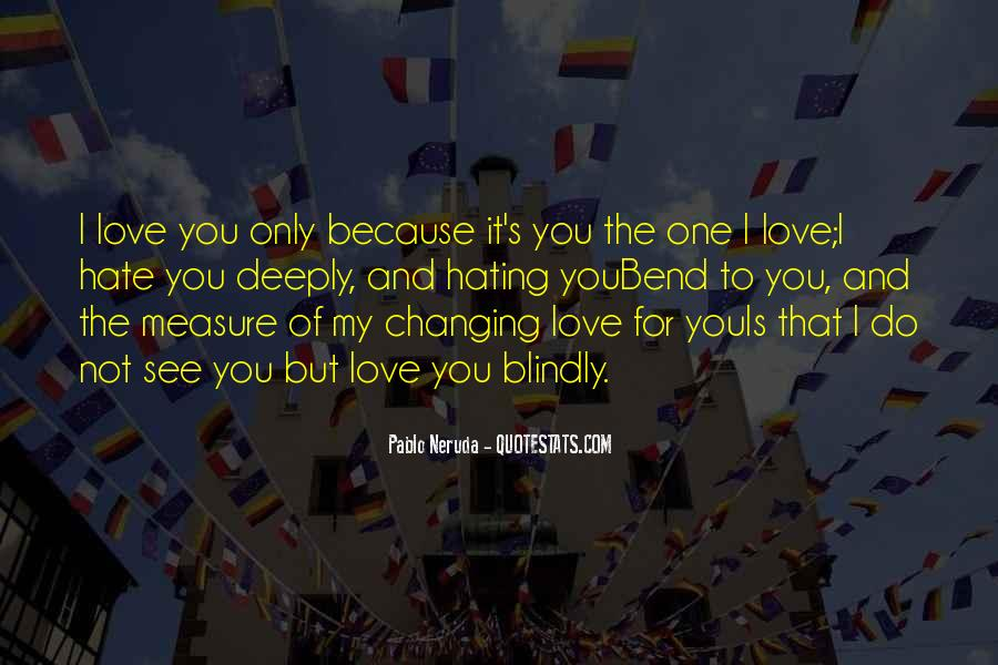 Quotes About Changing For Love #1194108