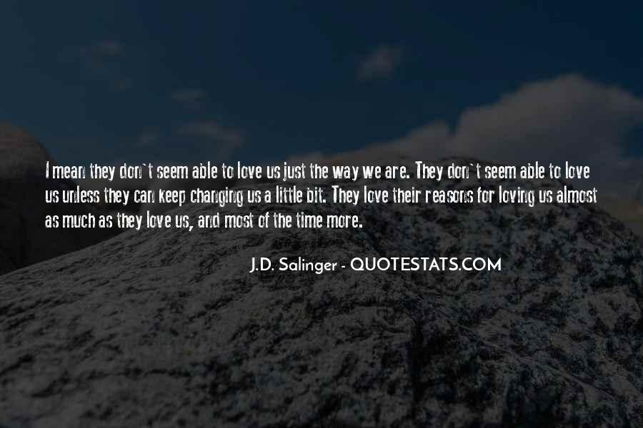 Quotes About Changing For Love #1620793