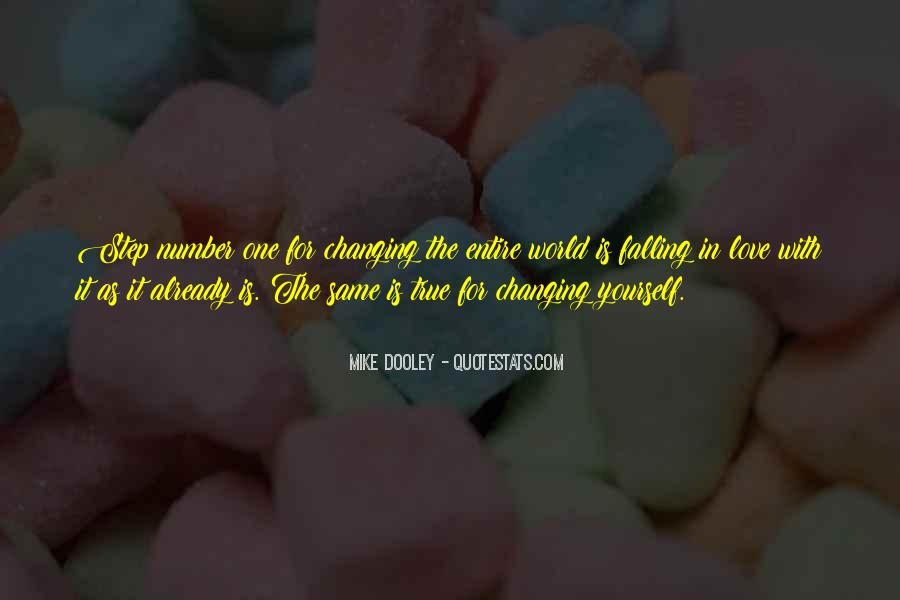 Quotes About Changing For Love #1679072