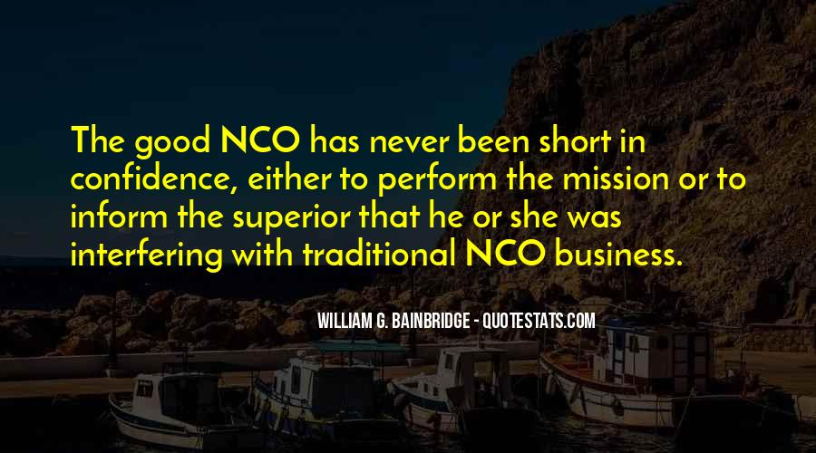 Nco Quotes #437031