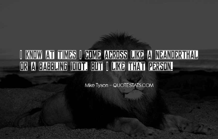 Neanderthal Quotes #1583000
