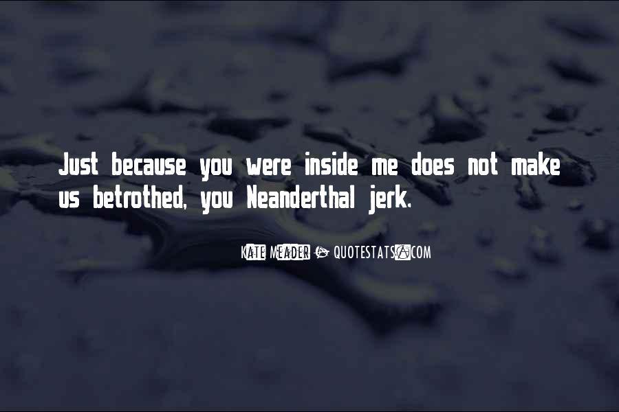 Neanderthal Quotes #41302