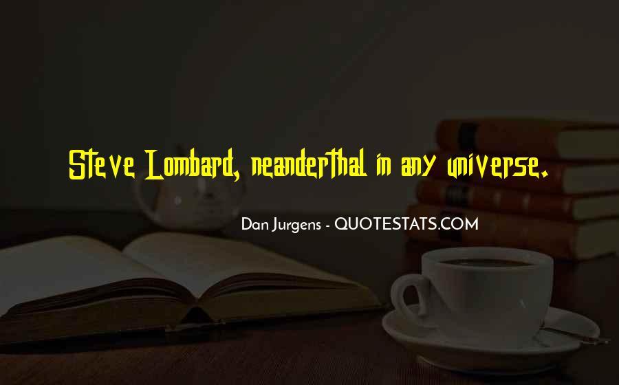 Neanderthal Quotes #813583