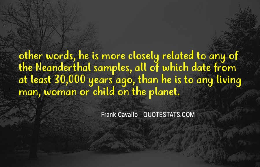 Neanderthal Quotes #850979