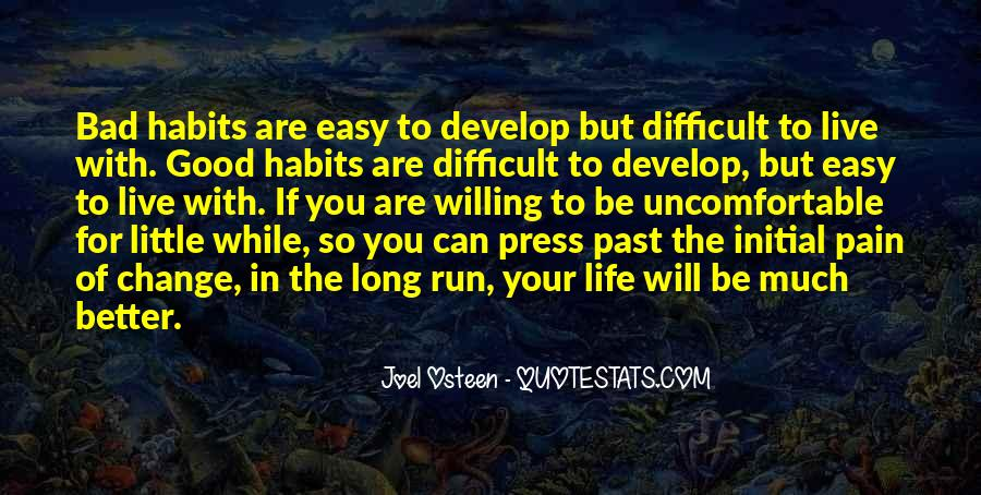 Quotes About Change Bad Habits #1221917