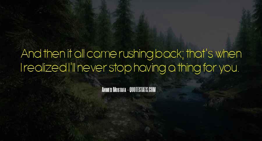 Need U Back Quotes #3086
