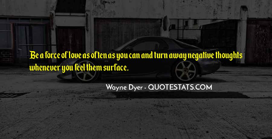 Negative Thoughts On Love Quotes #1229337