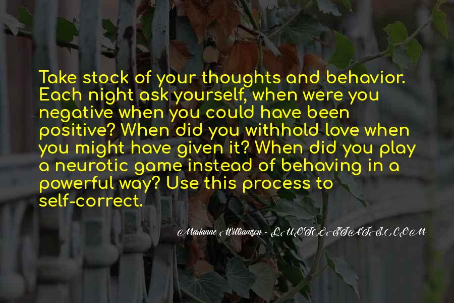 Negative Thoughts On Love Quotes #747455