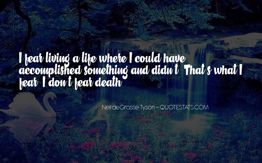 Neil Degrasse Quotes #97776