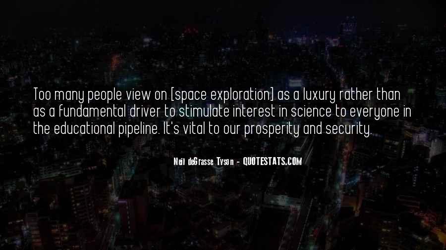 Neil Degrasse Tyson Space Exploration Quotes #538033